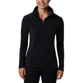 Columbia Glacial IV Suéter Estampado1/2 Cremallera Mujer, black sparkler print